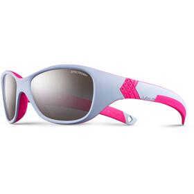 Julbo Solan Spectron 3+ Occhiali da sole 4-6 anni Bambino, lavender/pink-gray flash silver